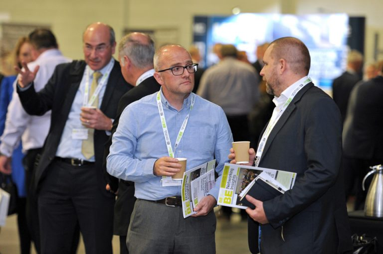 Networking in harrogate for Manufacturing Conference & Exhibition 2019