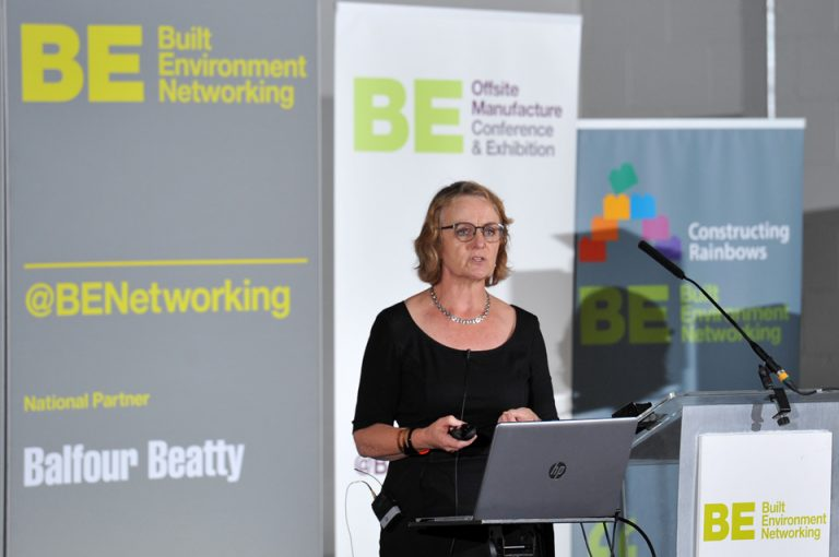 Oona Goldsworthy of United Communities Manufacturing Conference & Exhibition 2019