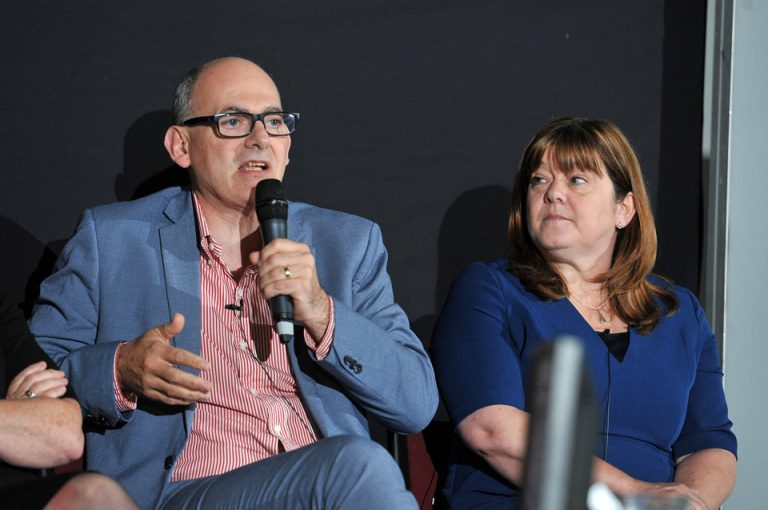 Paul Smith and Amanda Keegan at Manufacturing Conference & Exhibition 2019
