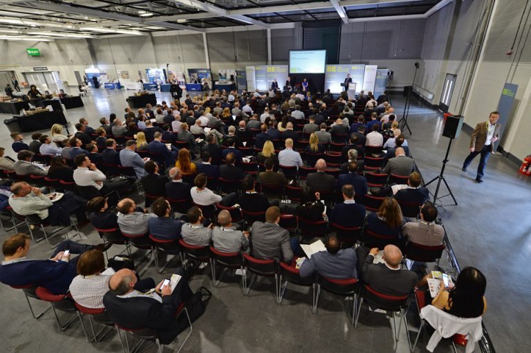 The back of the room view Manufacturing Conference & Exhibition 2019