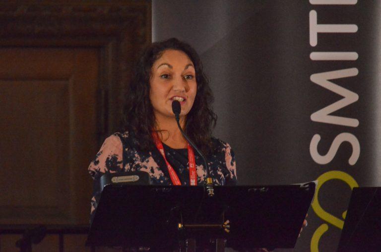 Theresa White speaking Leeds Development Plans 2018