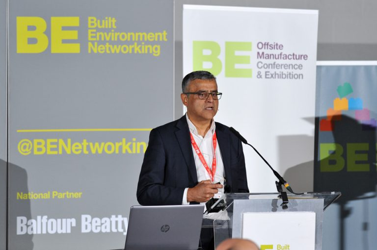 naz Parkar of Kirklees Council Offsite Manufacture Conference & Exhibition 2019