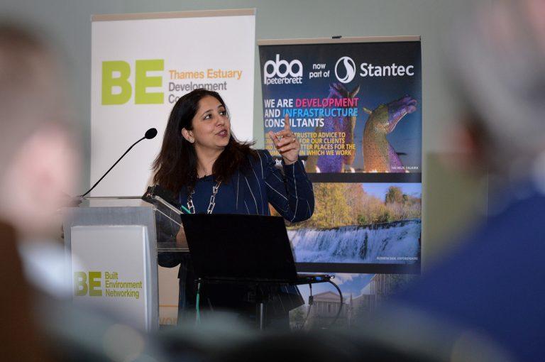 Anusha-Shah-of-Thames-Estuary-Partnership-Thames-Estuary-Development-Conference-2019