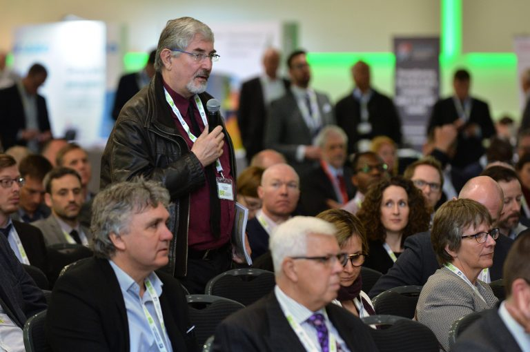 Attendee-asks-the-panel-a-question-at-Thames-Estuary-Development-Conference-2019