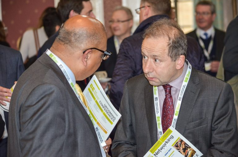 Attendee's discuss the day of Cambridgeshire Development Plans