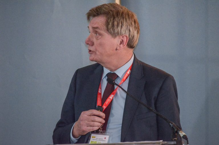 John Clapham speaks at North West Universities Development Plans 2019