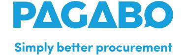 Pagabo - Blue Strapline Logo National Framework Partner