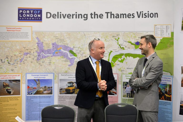 Port-of-London-Authority-Networking-Stand-at-Thames-Esturary-Development-Conference-2019