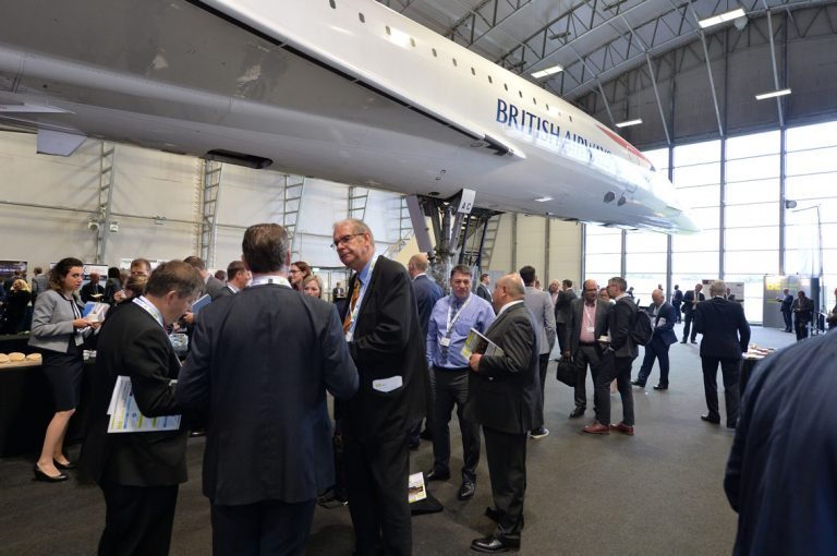 Networking Event for the built environment in Concorde centre outside of Manchester