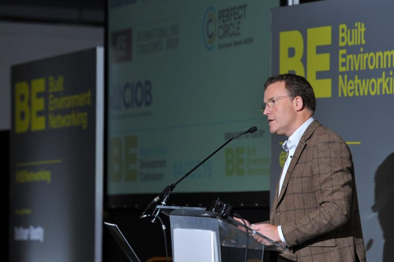 Phil Laycock of Built Environment Networking Airport Cities Development Conference 2019