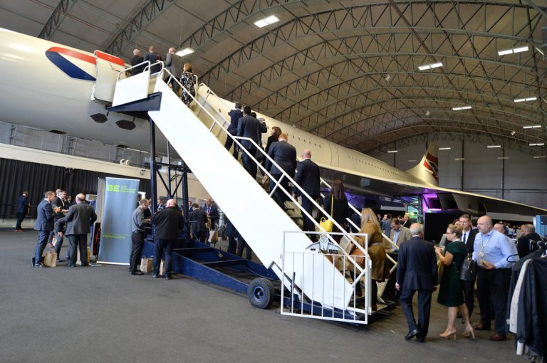 The Stairs up to Concorde Construction Networking