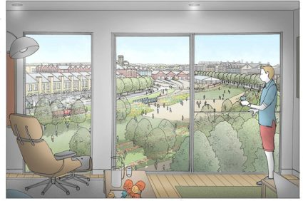 York Central Partnership Housing Residential Development Property