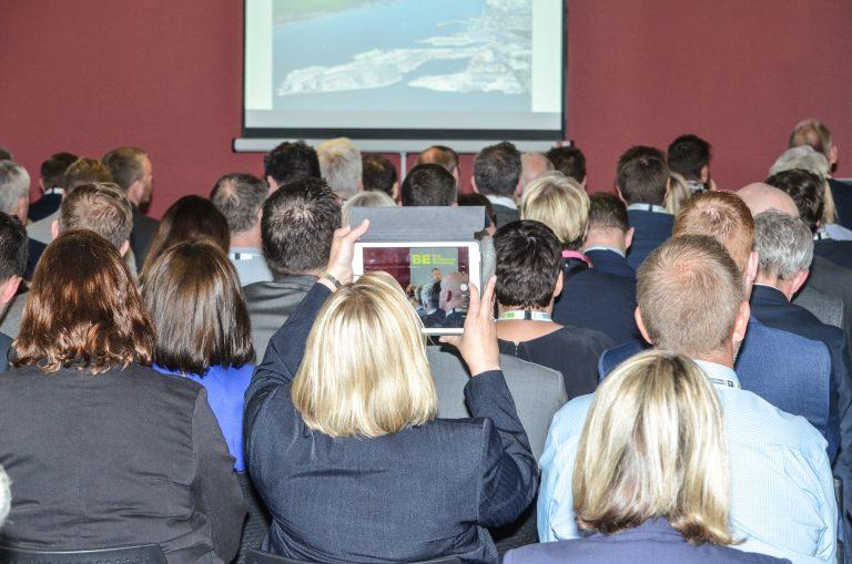 Attendee photographs the Speaker Southampton & Hampshire Development Plans