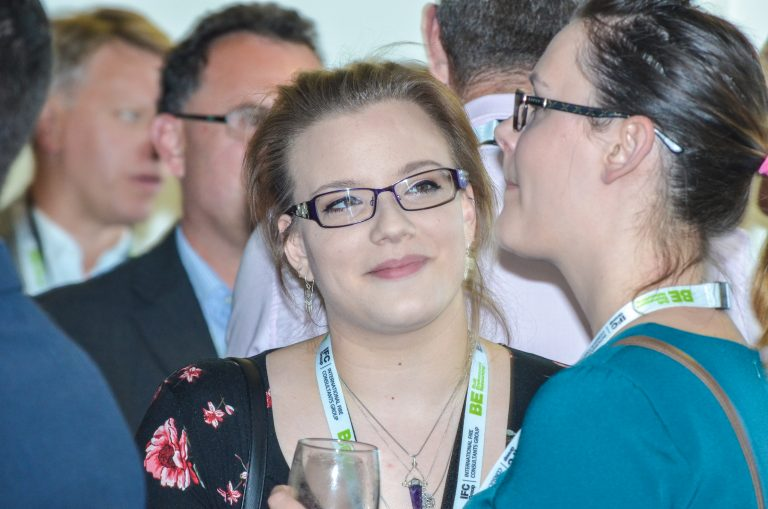 Attendee's discuss the day over drinks Southampton & Hampshire Development Plans