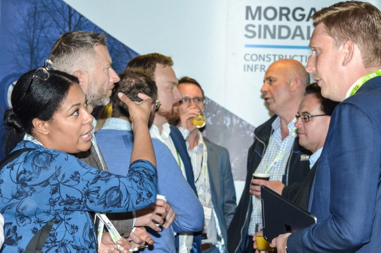 Morgan Sindall Networking Event Southampton & Hampshire Development Plans
