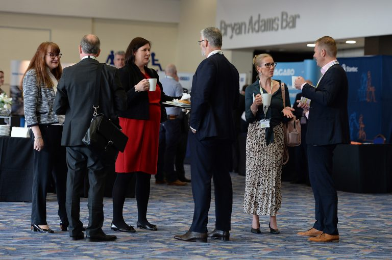 Networking-Shot-in-the-Ricoh-arena-for-Midlands-Development-Conference-2019