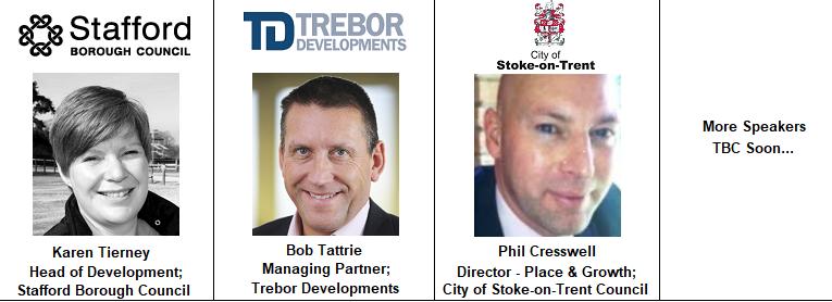 Karen Tierney Stafford Council Bob Tattrie Trebor Developments Stoke Phil Cresswell