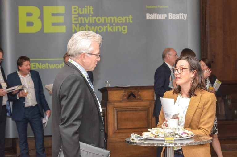 Built Environment Networking in Manchester Hall