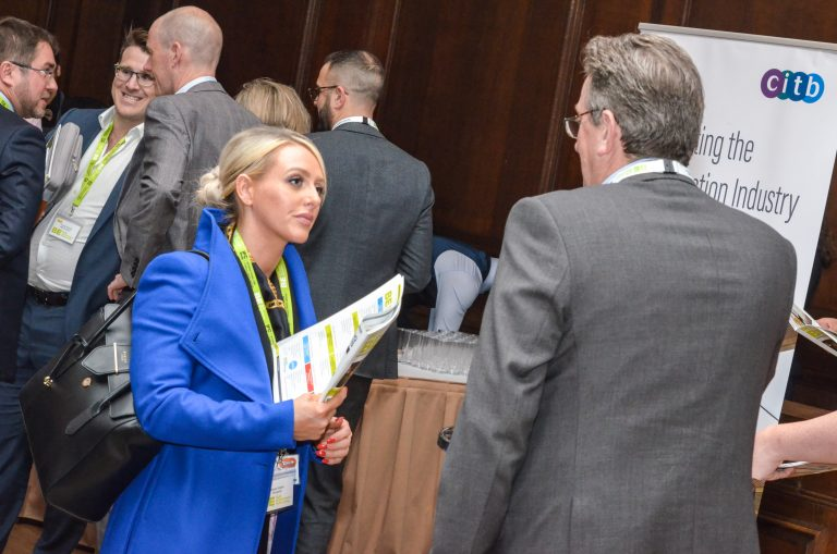 CITB Partnered networking event in manchester hall