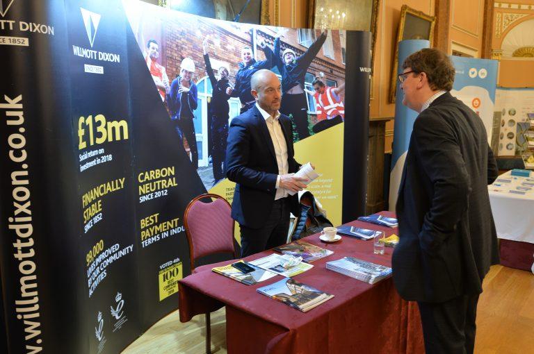 Wilmott Dixon Partnered Networking event in Liverpool North West Development Confernce, Liverpool.10.12.19
