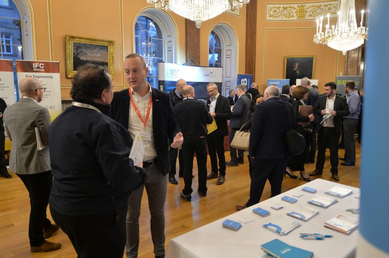 Networking in the Liverpool Town HallNorth West Development Confernce, Liverpool.10.12.19