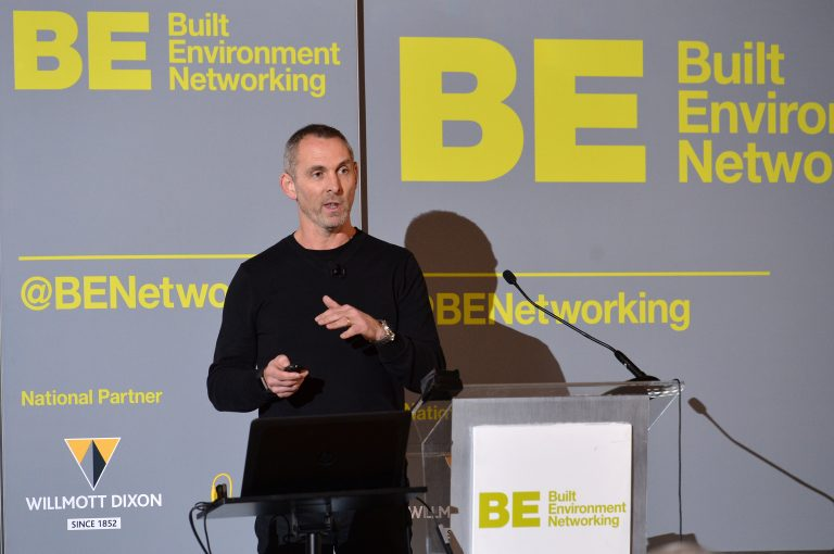Adam Higgins of Capital and Centric North West Development Confernce, Liverpool.10.12.19