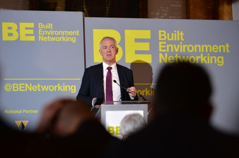 Nick Gerrard of Blackpool Council North West Development Confernce, Liverpool.10.12.19