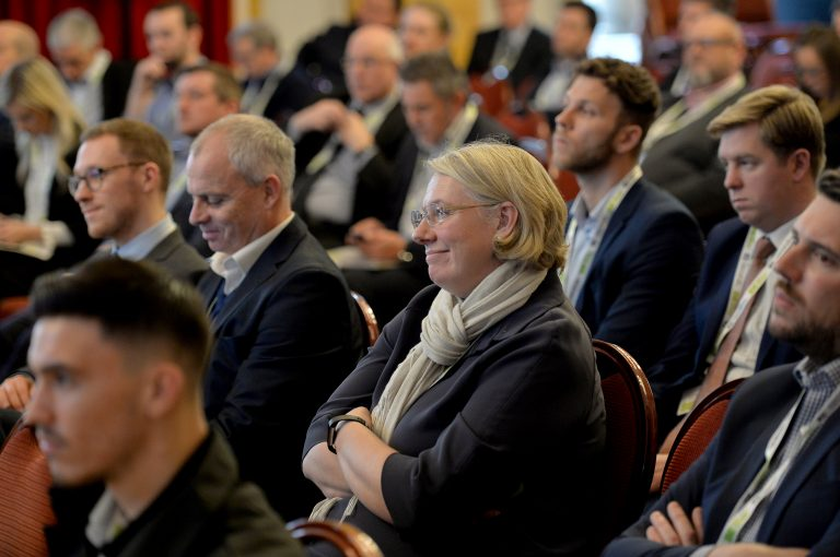 Attendee's seated and ready for the North West Development Confernce, Liverpool.10.12.19