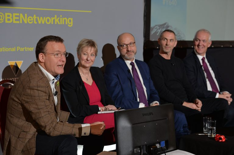 Phil faces the panel with a new question from Slido North West Development Confernce, Liverpool.10.12.19