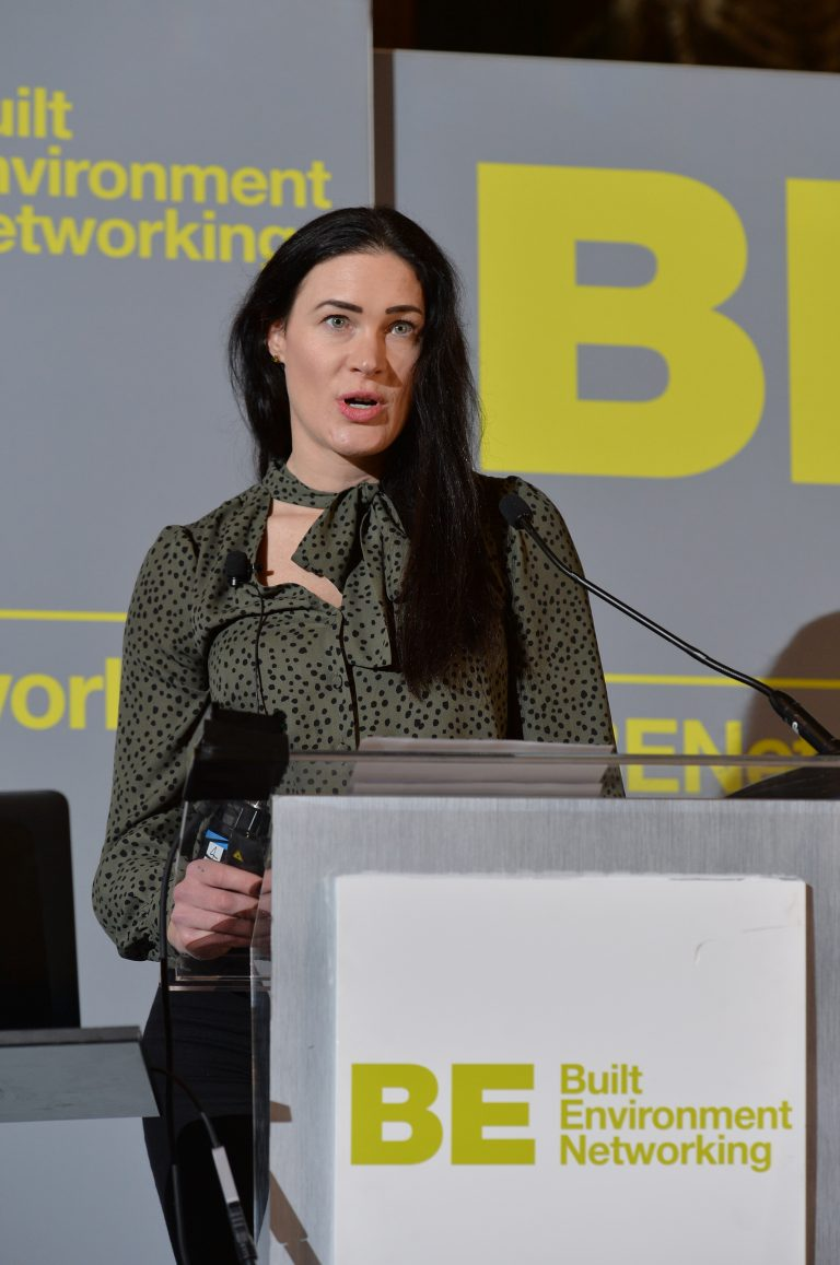 Louise Pearce of Romal Capital North West Development Confernce, Liverpool.10.12.19