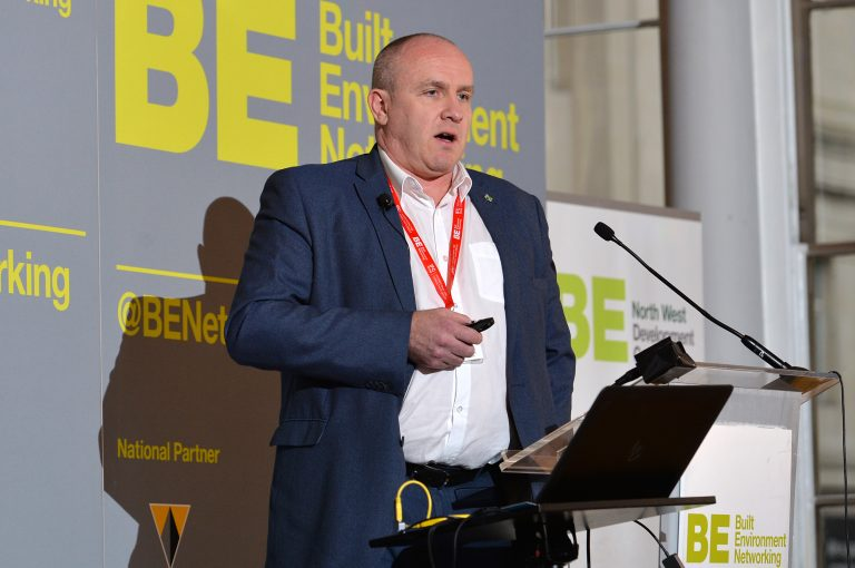 Dale Milburn of Knowsley Council North West Development Confernce, Liverpool.10.12.19