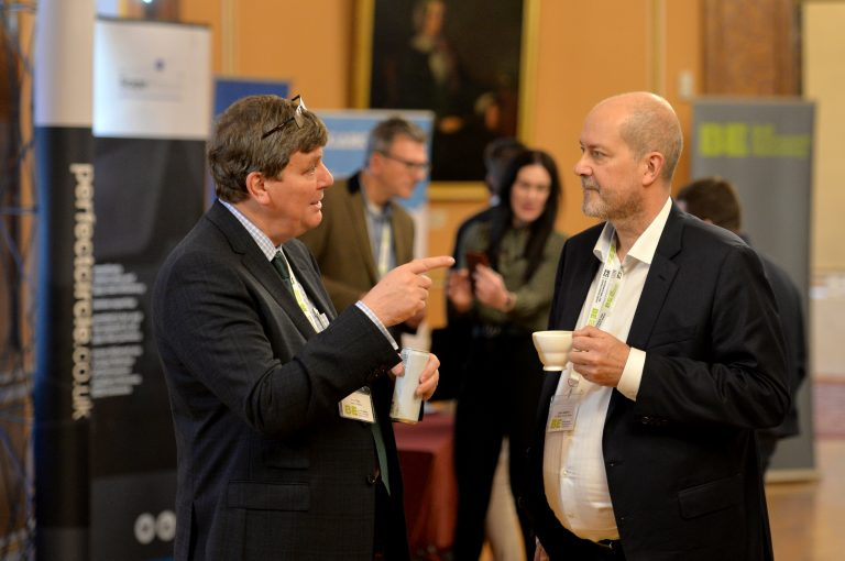 Networking in Liverpool City Hall North West Development Confernce, Liverpool.10.12.19