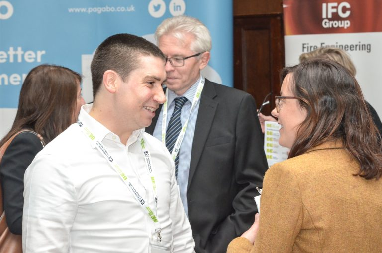 Networking in Manchester Hall for North West Development Plans 2019