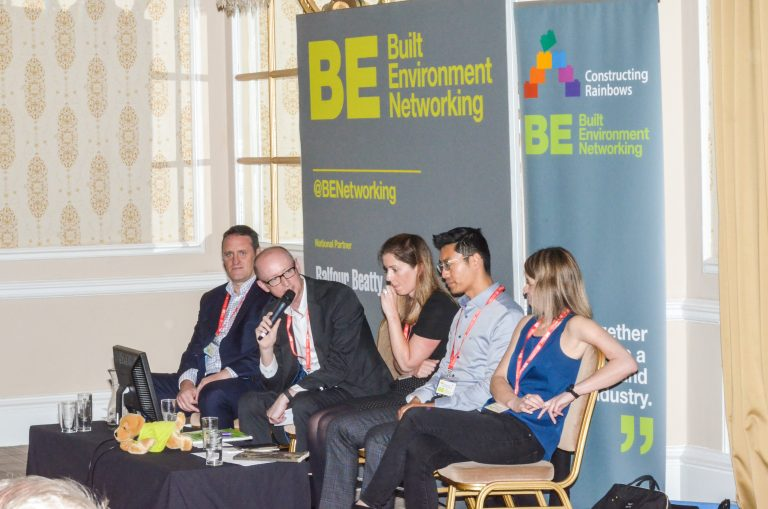 Paul Richards, Mike Simpson, Helen Spencer , Michael Dong and Hayley Fieldon North West Development Plans 2019