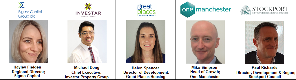 Speakers North West Manchester PRS Event