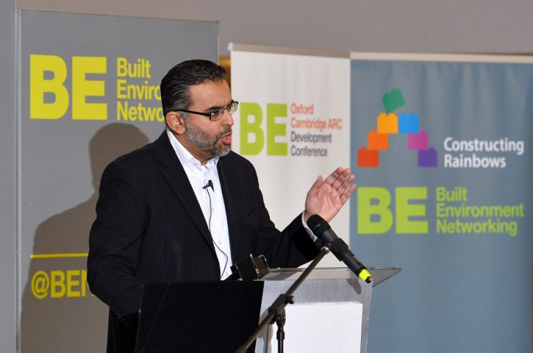 Ahmed Goga of Oxfordshire LEP Oxford Cambridge Arc Development Conference 2019 (2)