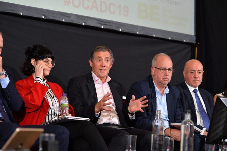 Andrea Imaz, Guy Dixon, Bryn Maidman and Pat Mahoney Oxford Cambridge Arc Development Conference 2019