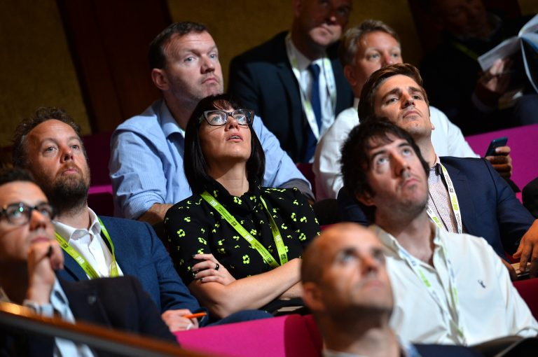 Attendee's watch the presentations at London Property Club Sept 2019