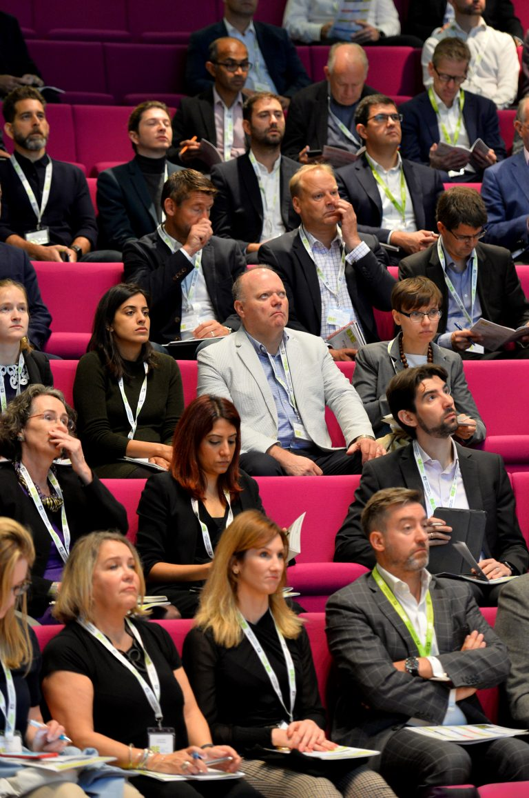 Attendee's watching the speakers at London Property Club 2019
