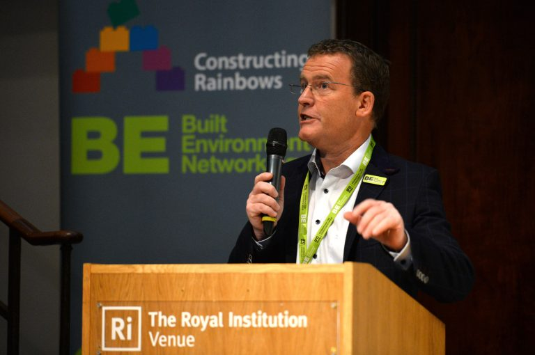 Built Environment Networking event in the Royal Institute Phil Laycock