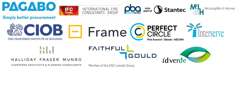 Exhibitors Scotland 2 Peter Brett Frame Pagabo IFC Group Interserve