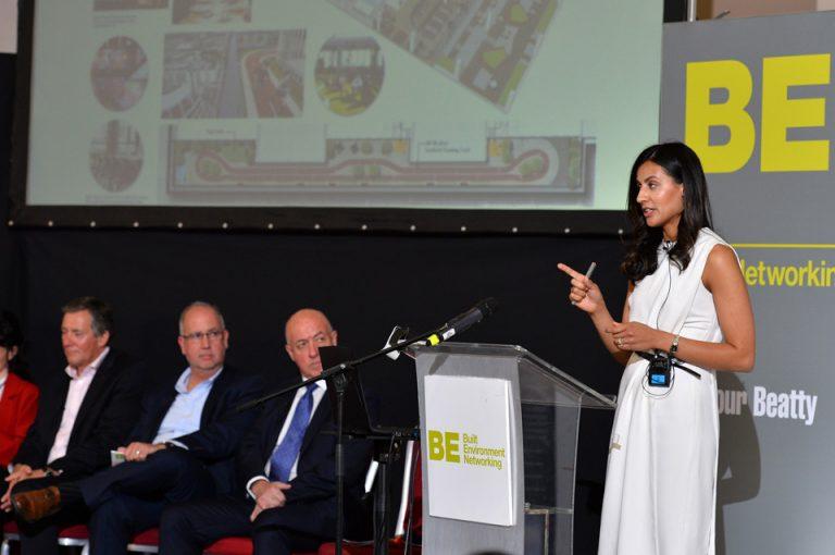 Hanayyah Sutton of Santander of Oxford Cambridge Arc Development Conference 2019