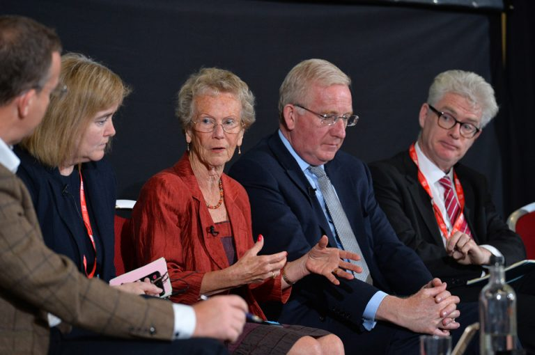 Jacqui Cox, Jane Hamilton, Euan Hall and Hugh Brennan Oxford Cambridge Arc Development Conference 2019