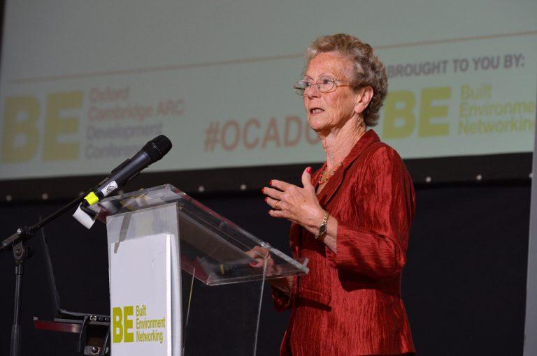 Jane Hamilton of Milton Keynes Waterway Trust Oxford Cambridge Arc Development Conference 2019
