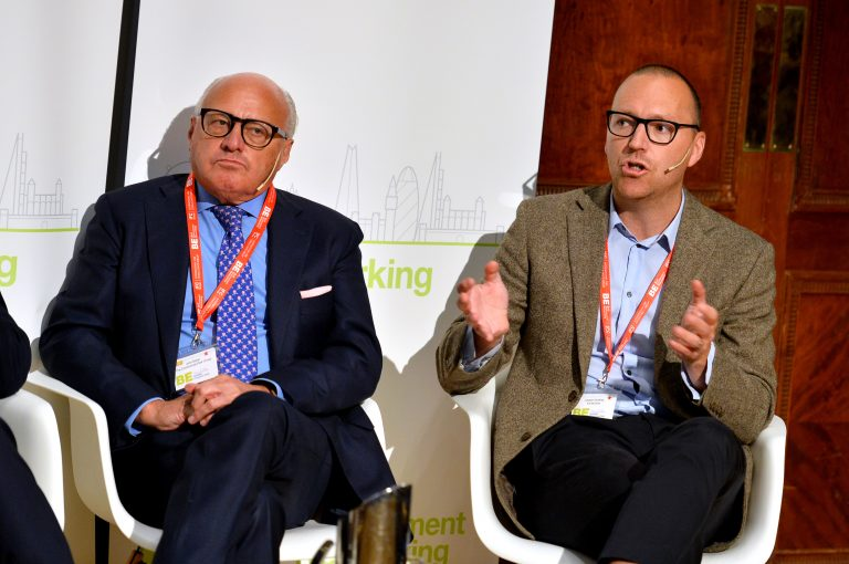 John Baker and Joseph Godfrey at London Property Club 2019