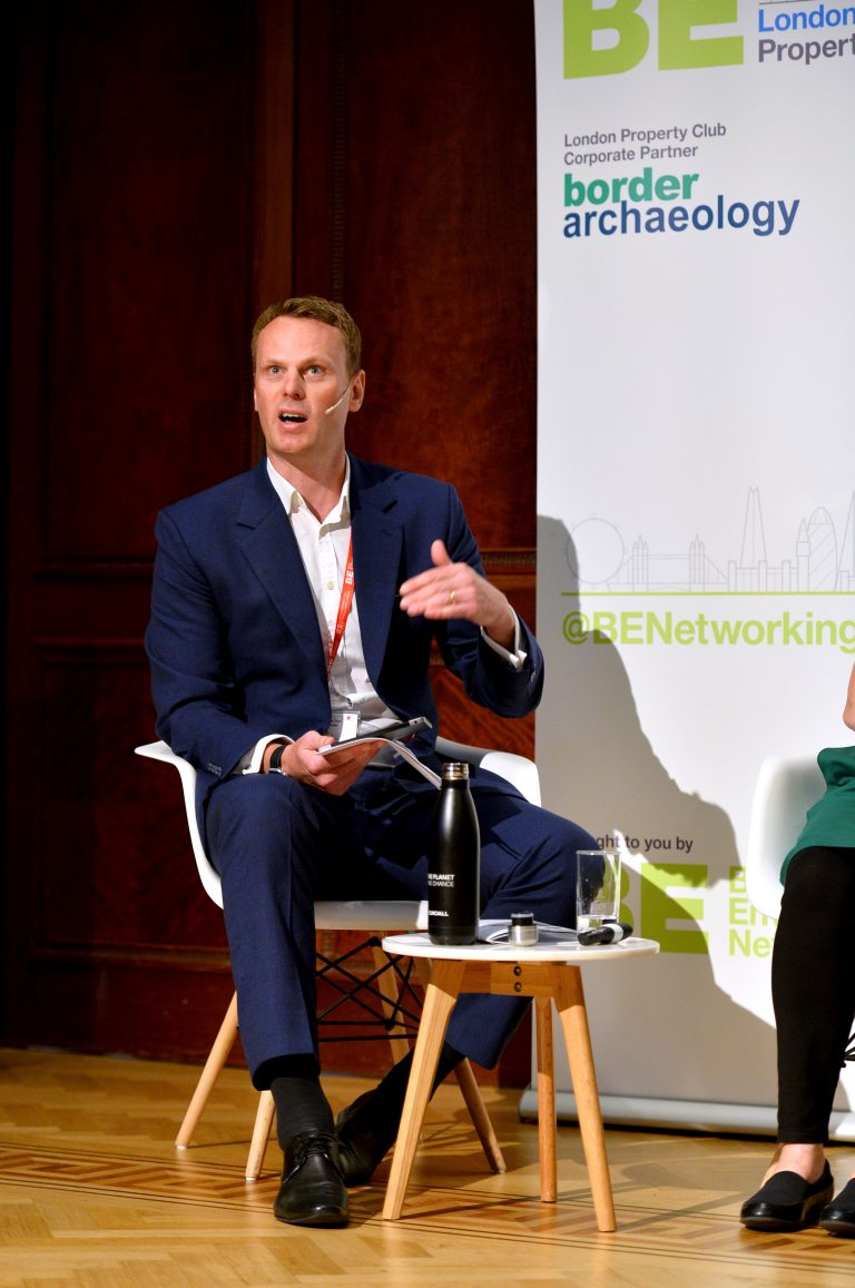 Jonnie Allen of Cundall at London Property Club Sept 2019