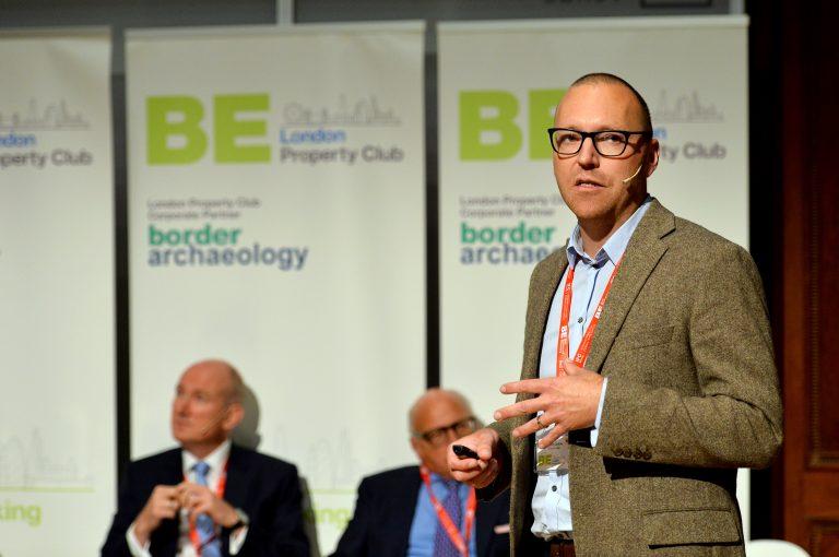 Joseph Godfrey of Ennismore presents as part of the developments in London panel