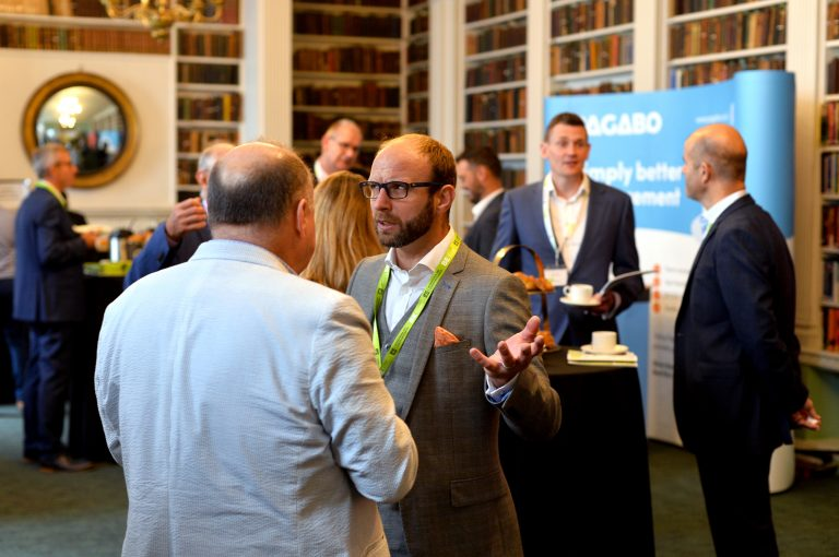 Networking at the Royal Institute in London for Septembers London Property Club 2019