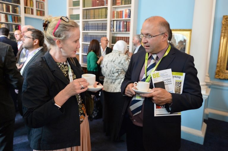 Networking in the London Property Club Sept 2019