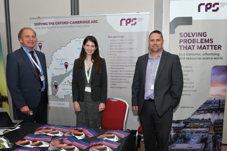 RPS Partnered Networking Oxford Cambridge Arc Development Conference 2019